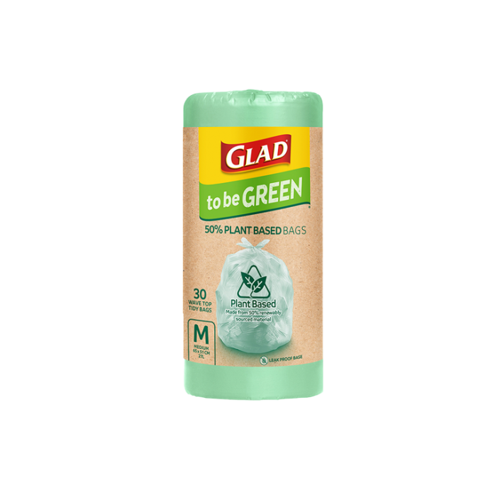 Glad to be Green® Plant Based Bags Medium 30pk