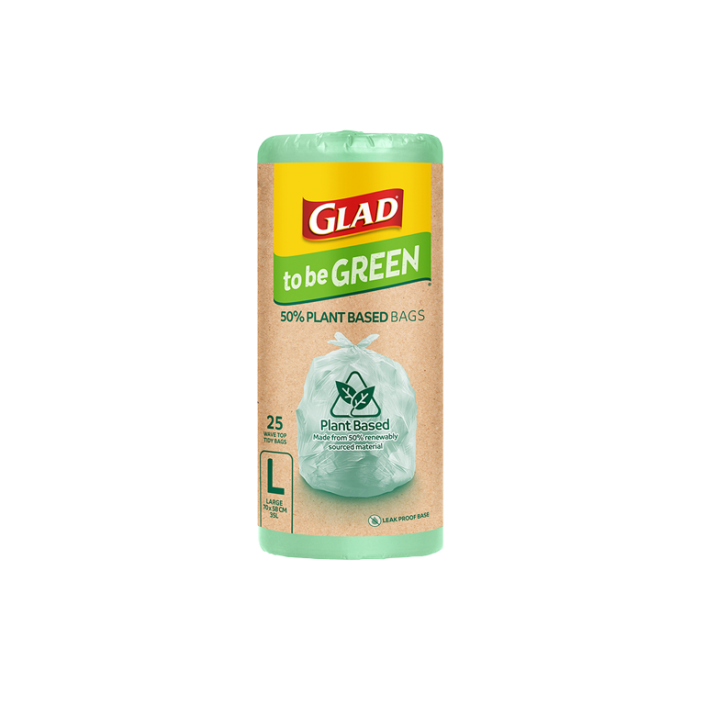 Glad to be Green® Plant Based Bags Large 25pk