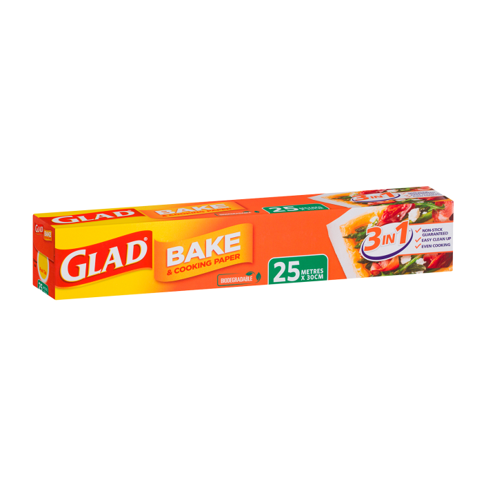 Glad Bake & Cooking® Paper 25m