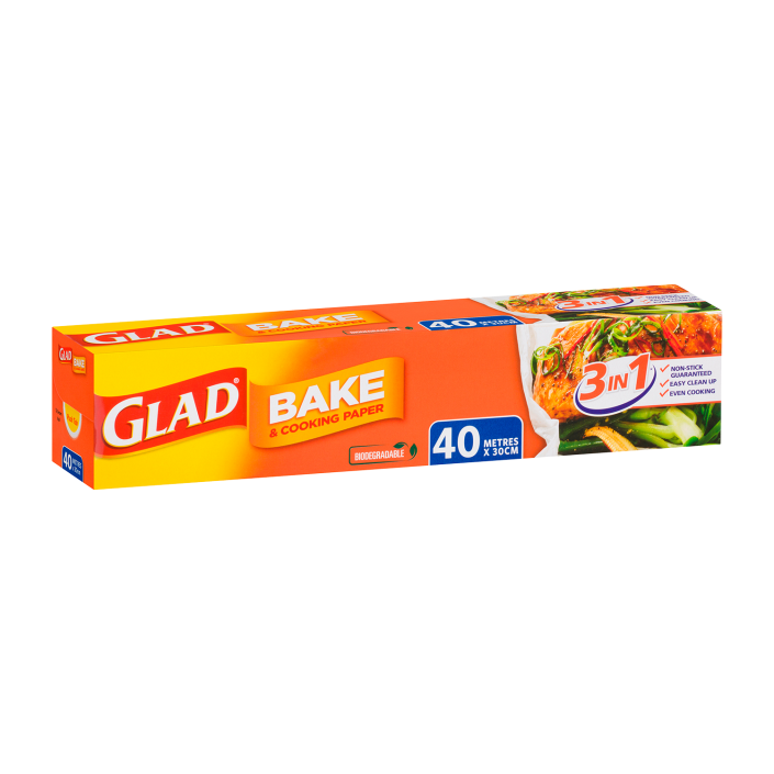 Glad Bake & Cooking® Paper 40m