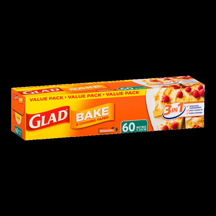 Glad Bake & Cooking® Paper 60m