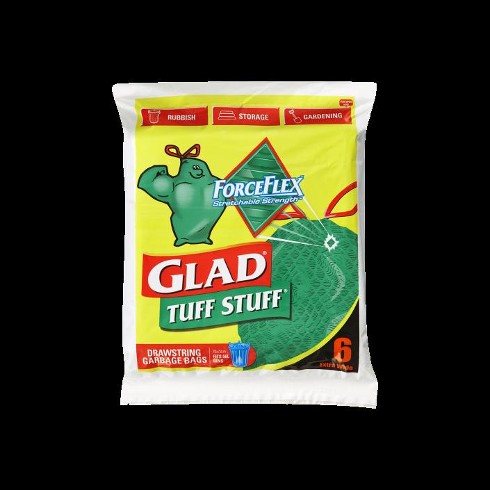 Glad® Tuff Stuff® ForceFlex Garbage Bags 6pk