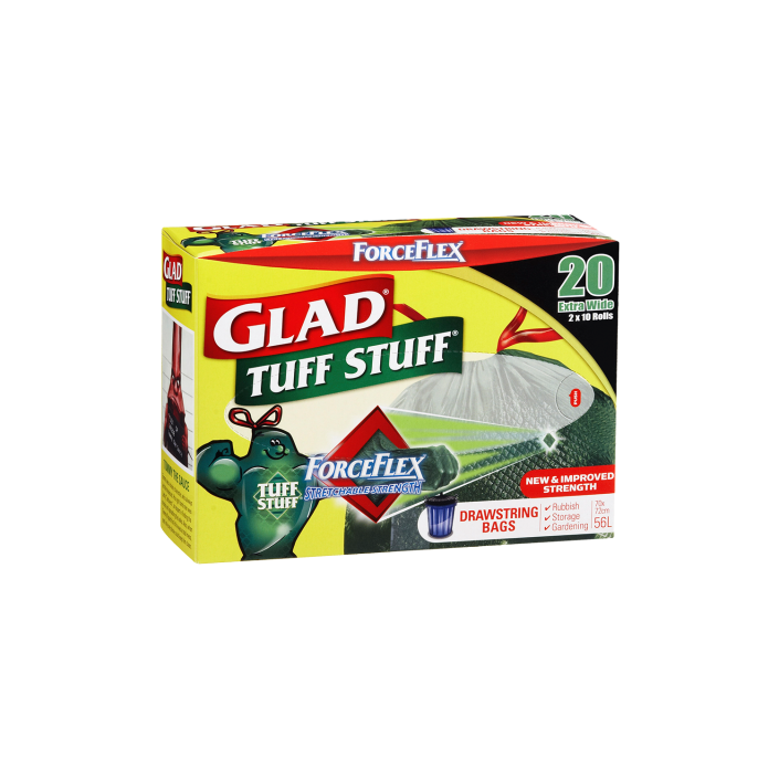 Glad® Tuff Stuff® ForceFlex Garbage Bags 20pk