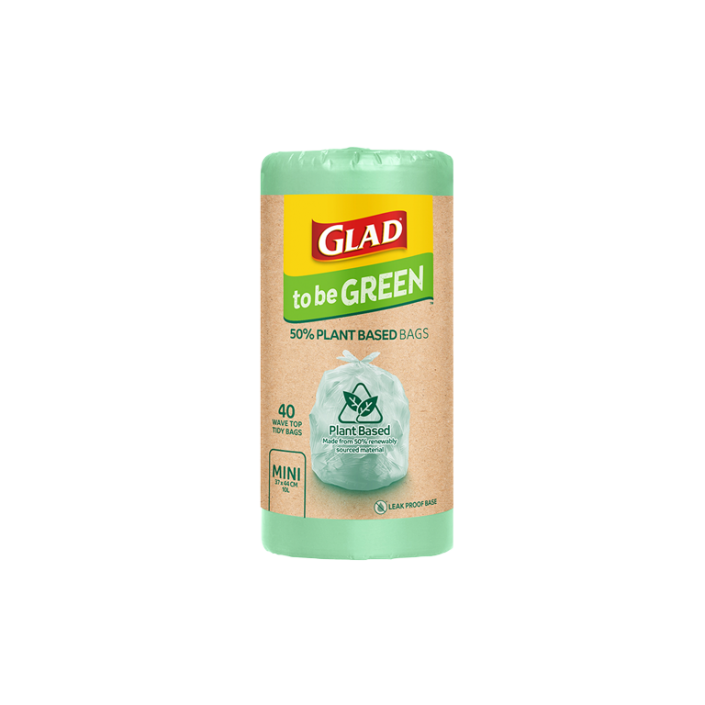 Glad to be Green® Plant Based Bags Mini 40pk
