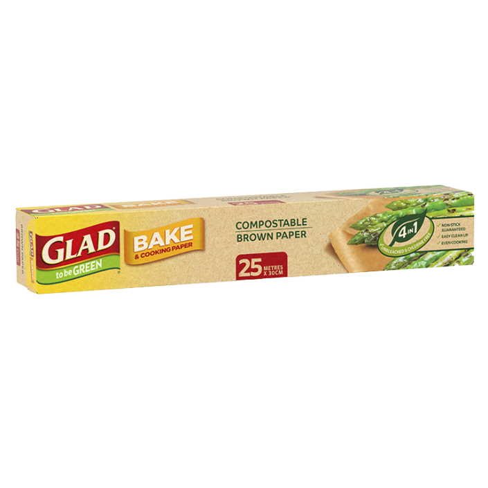 Glad to be Green® Compostable Bake Paper 25m