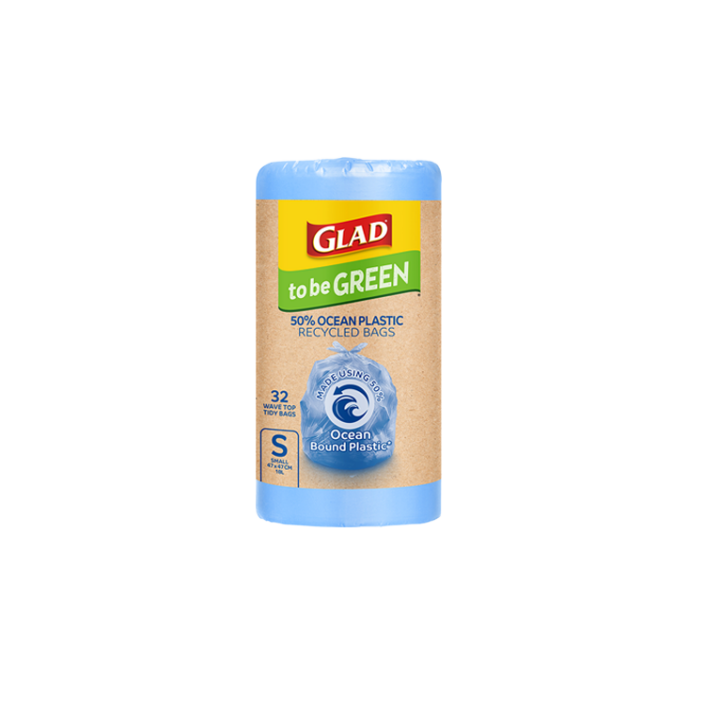 Glad to be Green® 50% Ocean Recycled Bags Small 32pk